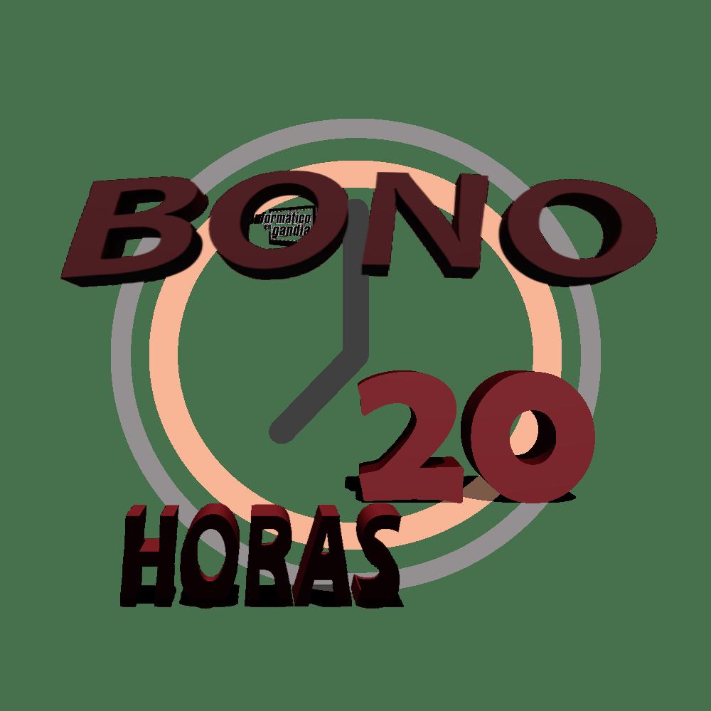 Bono 20 horas