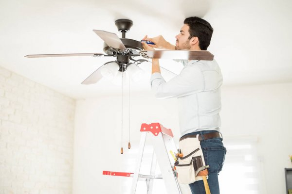 instalación ventilador